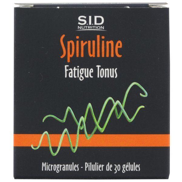 Spiruline 30 Gélules au meilleur prix| SID Nutrition