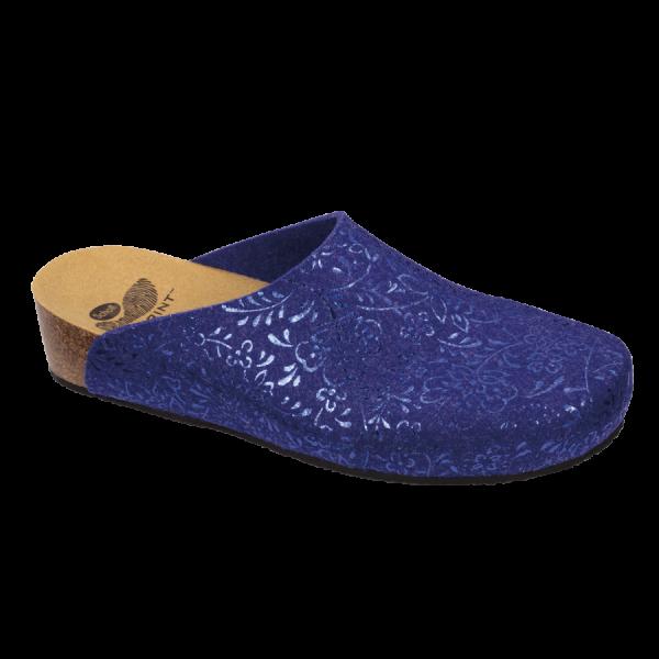 Scholl chaussons mules Silène bleu royal
