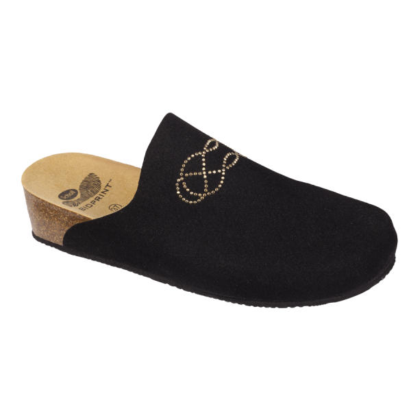 Scholl chaussons mules Soraia noir