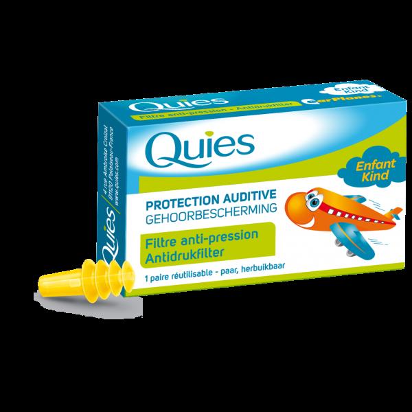 Protection Auditive Filtre Anti-Pression 1 Paire Pour Enfant à prix bas| Quies