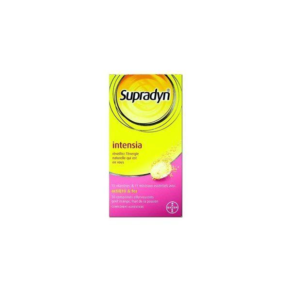 Achetez Bayer Supradyn Intensia 30 comprimés moins cher