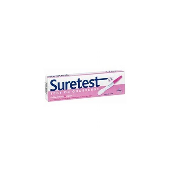 Test de grossesse Boîte de 1 test au meilleur prix| Suretest