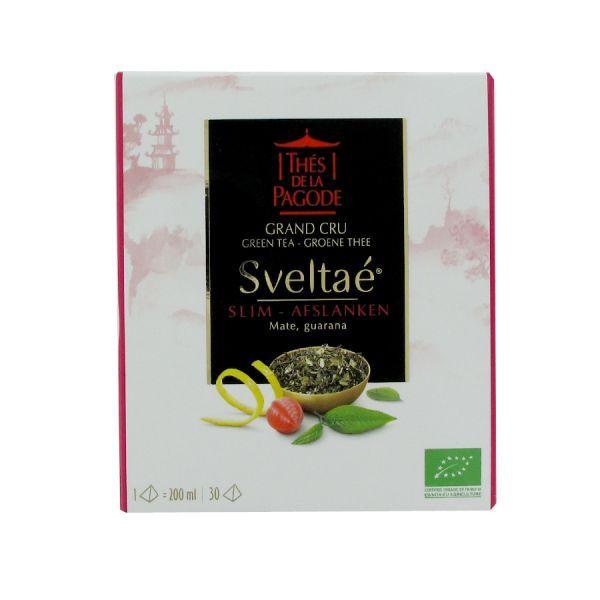 thé vert grand cru Sveltaé Minceur bio 30 sachets à prix bas| Thés de la Pagode