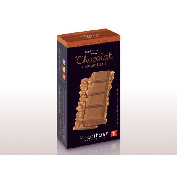 Les Tablettes de Chocolat Croustillant de Protifast