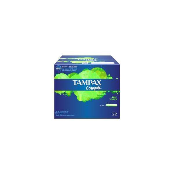 Compak Super 22 Tampons au meilleur prix  Tampax