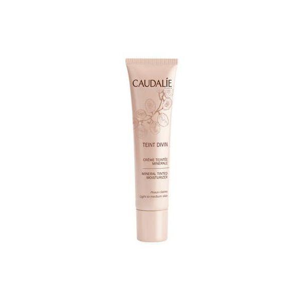 Teint Divin Crème Teintée Minérale Peaux Claires  30ml moins cher| Caudalie
