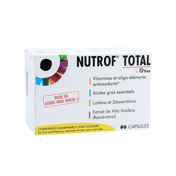 Nutrof Total 60 Capsules à prix bas| THEA