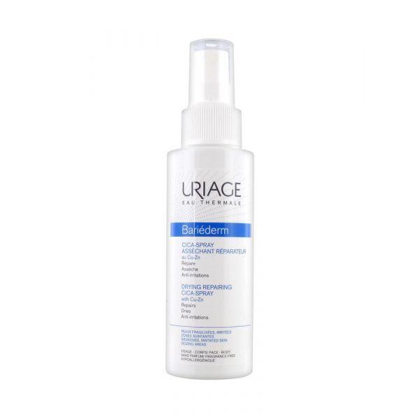 Bariéderm Cica-Spray Asséchant Réparateur 100ml à prix discount| Uriage