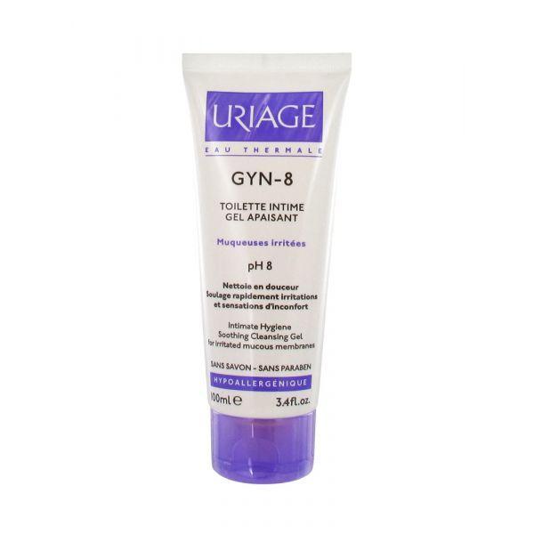 Gyn-8 Gel Nettoyant Apaisant Toilette Intime 100ml à prix discount| Uriage