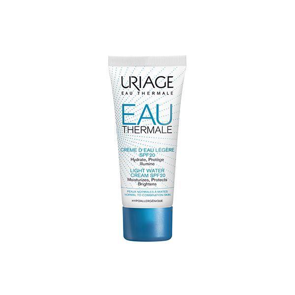 Eau Thermale Crème d'Eau Légère SPF20 40ml moins cher| Uriage