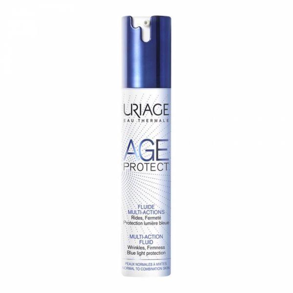 Un anti-âge Fluide anti lumière bleue d'Uriage
