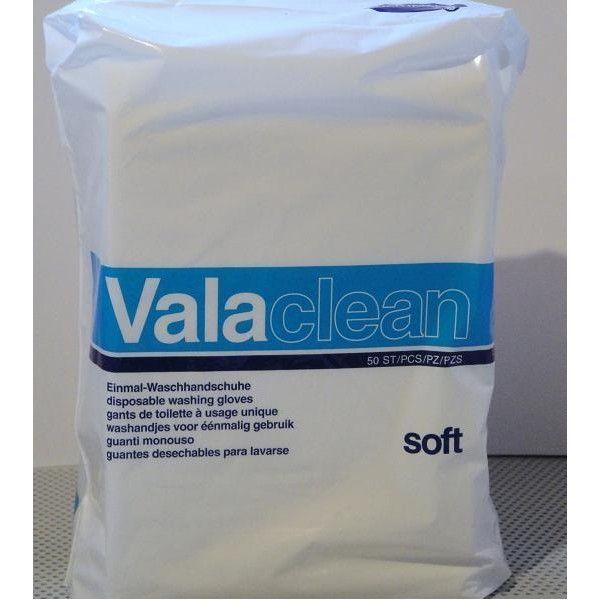 ValaClean Gants de toilette usage unique x50 moins cher| Hartmann