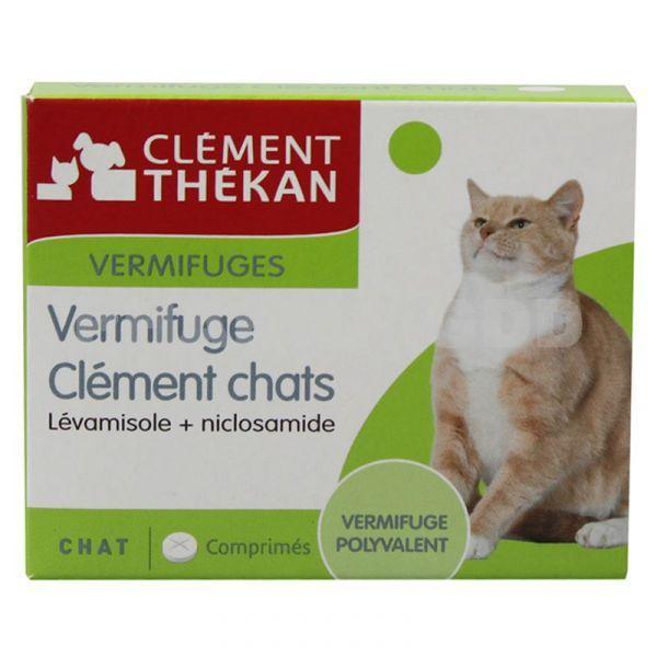Vermifuge comprimés Clement chat moins cher| Clément Thekan