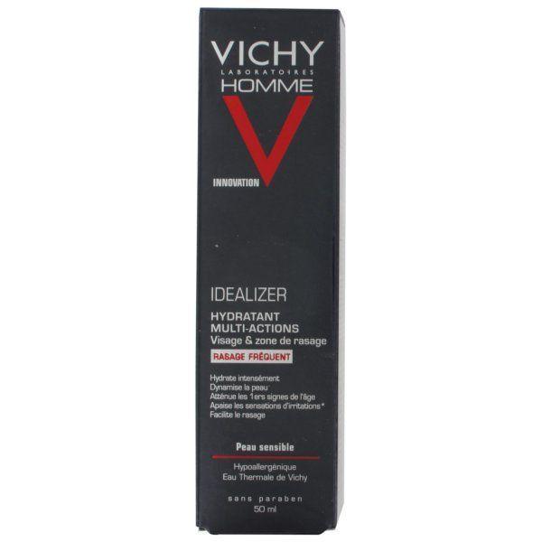 Homme Idealizer Hydratant Multi-Actions Peaux Sensibles 50ml à prix bas| Vichy