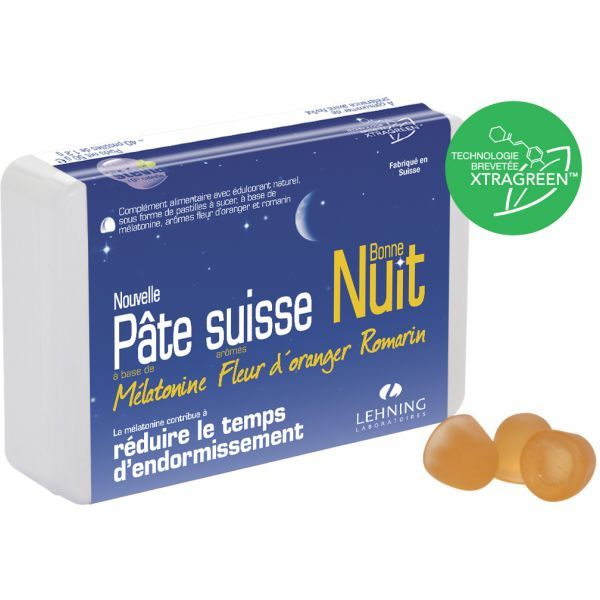 Lehning pâte suisse bonne nuit  moins cher