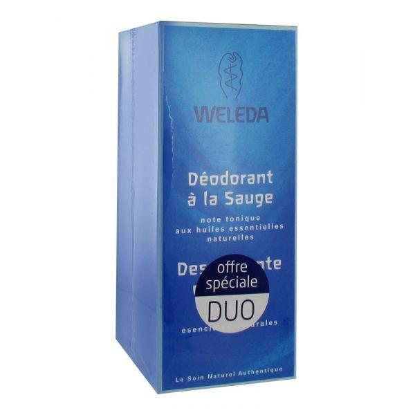 Déodorant à la Sauge Lot 2x100ml moins cher| Weleda