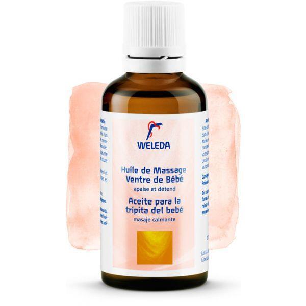 Bébé Calendula Huile de Massage du Ventre de Bébé 50ml moins cher| Weleda
