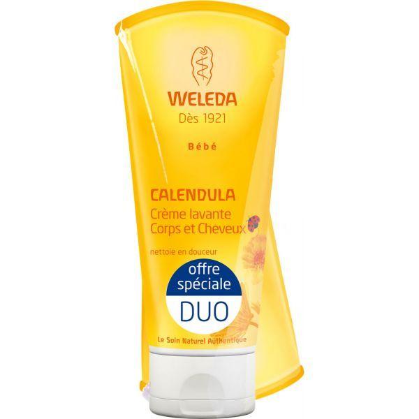 Wéléda Bébé Calendula Duo Crème Lavante Corps et Cheveux  moins cher