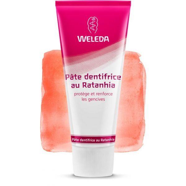 Pâte Dentifrice au Ratanhia 75ml à prix discount| Weleda