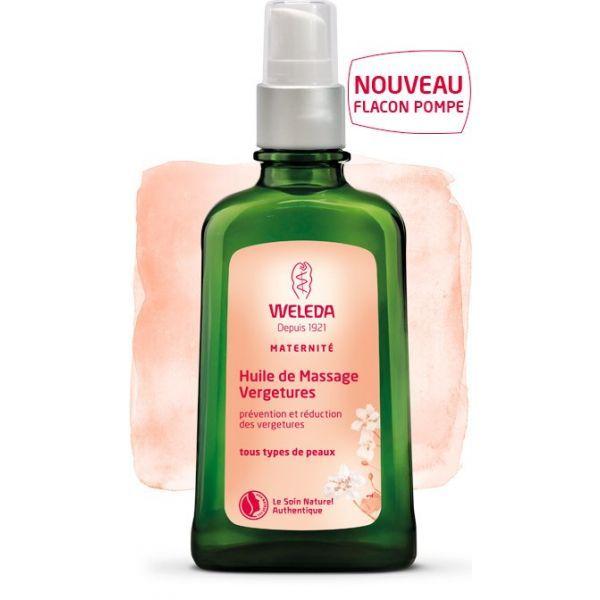 Huile de massage Vergetures au meilleur prix  Weleda