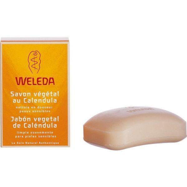 Bébé Savon Végétal au Calendula  100g au meilleur prix| Weleda
