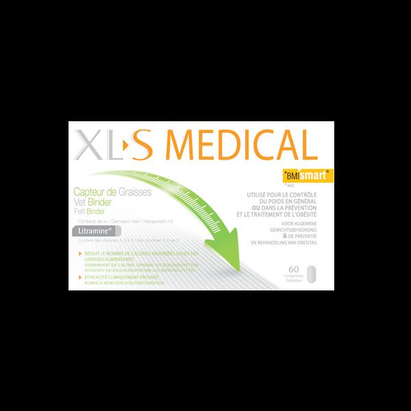 Capteur de Graisses  60 comprimés au meilleur prix| Xl-S Medical