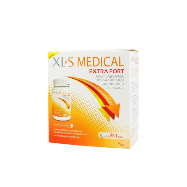 Extra Fort 120 comprimés au meilleur prix| Xl-S Medical