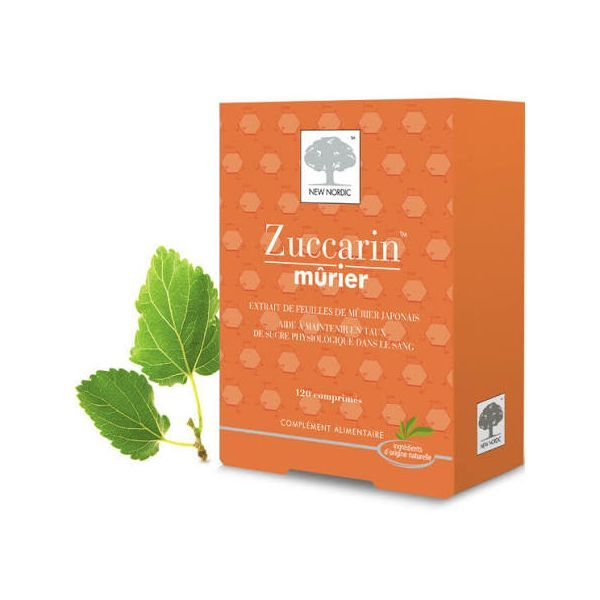 Zuccarin Mûrier 120cp moins cher  New Nordic