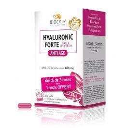 Biocyte Hyaluronic Forte Full Spectrum Anti-Âge 90 gélules dont 30 OFFERTES