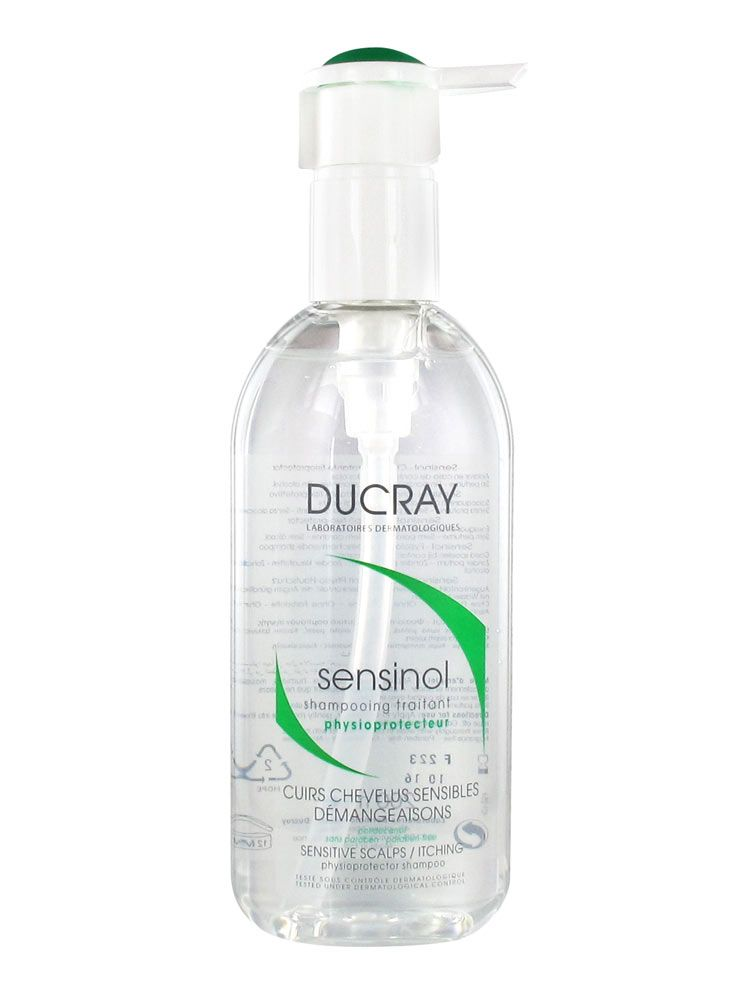 ducray sensinol shampooing traitant physioprotecteur tube 200 ml. Black Bedroom Furniture Sets. Home Design Ideas