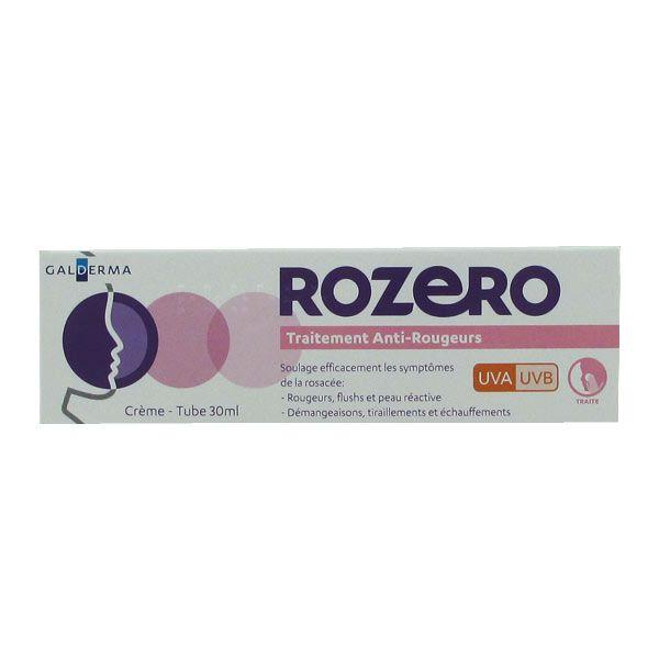 Galderma rozero traitement anti rougeurs uva uvb 30ml - Traitement anti araignee rouge ...