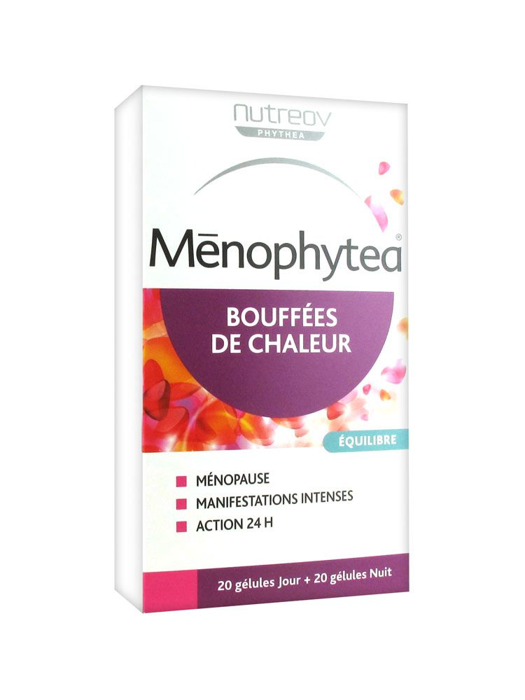Prix de Ménophytea bouffées de chaleur 40 gélules