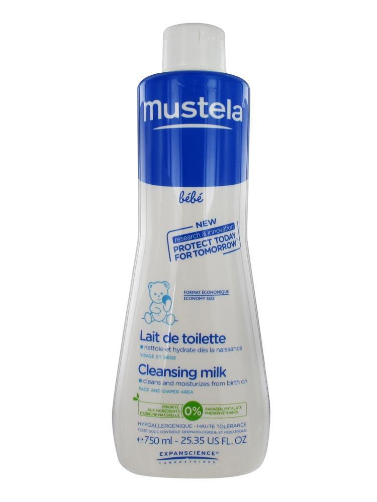 mustela lait de toilette nettoyant pour b 233 b 233 contenance 750 ml