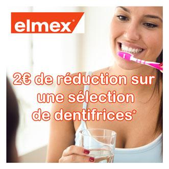 Elmex réductions