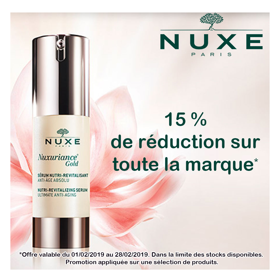 Promo Nuxe Fevrier