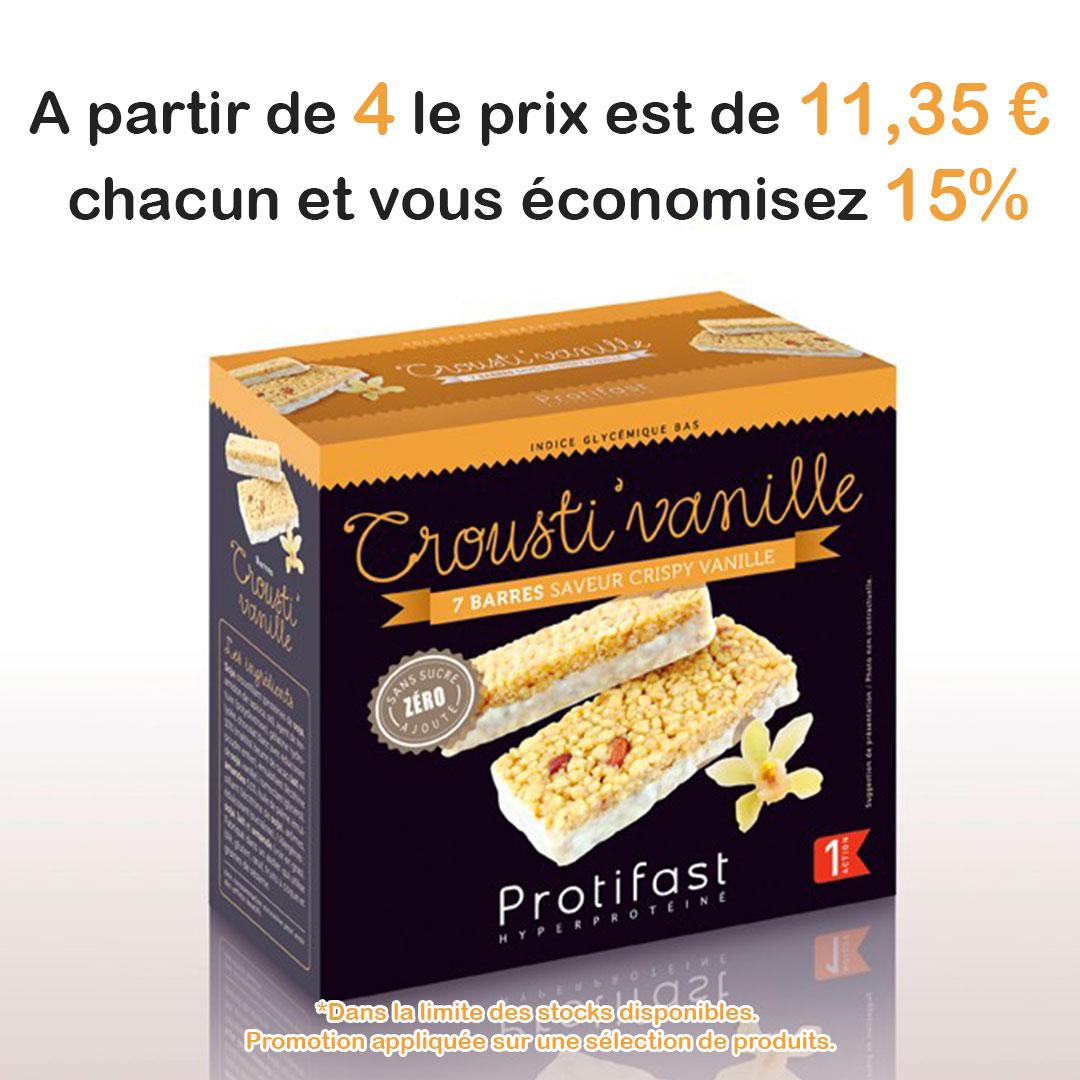 Crousti'vanille promo