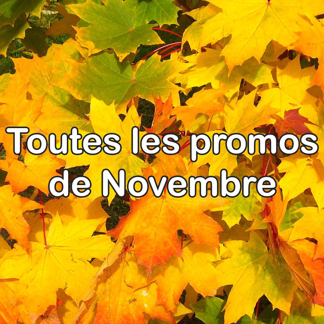 promos Novembre