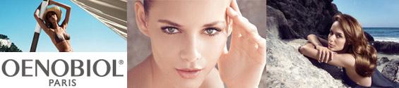 Compléments alimentaires Oenobiol, solaires, cheveux, corps, visage, bien être