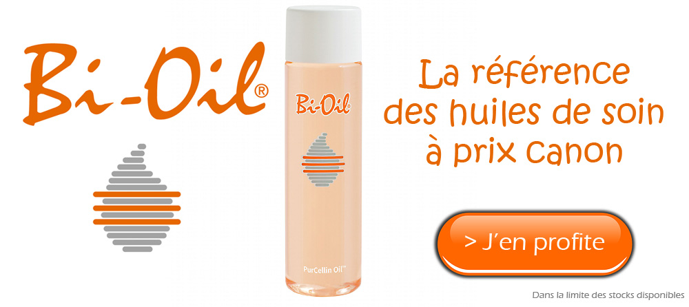 Promotion Bi oil huile de soin