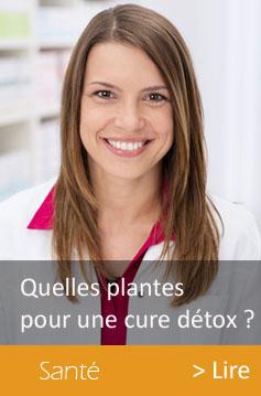 cure detox: bien choisir les plantes