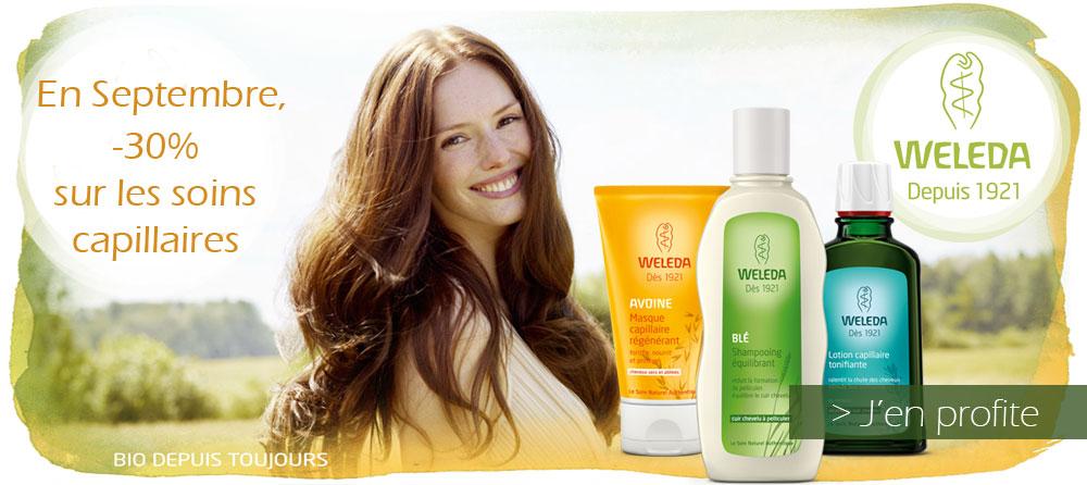 promotion weleda cheveux