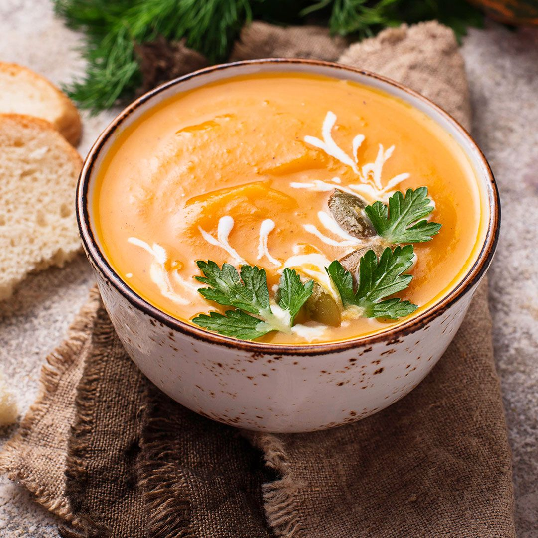 Les soupes hyperprotéinées