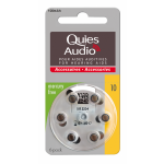 Quies Audio Piles Pour Aides Auditives N°10