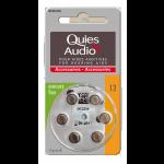Quies Audio Piles Pour Aides Auditives N°13