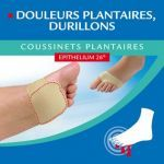 Epitact Coussinets Plantaires Epithelium 26 Douleurs Plantaires, Durillons Taille L 42/44