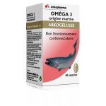 Omega 3, Origine marine 60 gélules à prix bas  Arkogélules