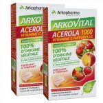 Arkopharma Acerola 1000 LOT 2x30 cp à croquer