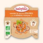 Babybio Assiette Navarin de Petits Légumes Agneau Français 230g