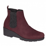 Scholl bottines Carol  bordeaux