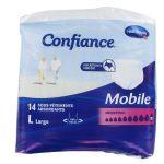Confiance Mobile 14 Sous Vêtements Absorbants Absorption 10 - taille L
